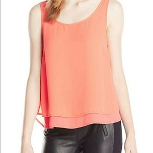 BCBGeneration Tiered Tank Top